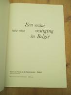 Bank Van Parijs En De Nederlanden Belgie 100 Jaar1972 56 Blz Kunst Historie - Histoire