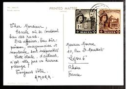 32424 - Publicitaire  Pour AMORA - Malte