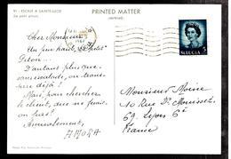 32427 - Publicitaire  Pour AMORA - Ste Lucie (...-1978)