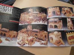 CAGI3 Figurines KING & COUNTRY / Dépliant Recto Verso 6 Pages DESERT VILLAGE / LIFE OF JESUS,  MAGNIFIQUEMENT ILLUSTREES - Militares