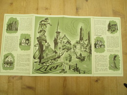 Folder Lier Sven De Bie 1950 - Publicités