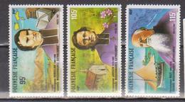 POLYNESIE    N°  YVERT  : 292/94 NEUF SANS  CHARNIERES - Französisch-Polynesien