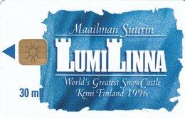 Finland Phonecard OULUN PUHELIN OPOY-E1 - Finlande