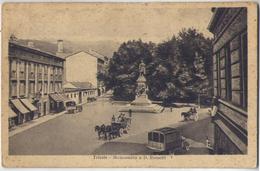 1922 TRIESTE - MONUMENTO A D. ROSSETTI  --- M0083 - Trieste