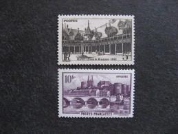 TB Paire N° 499 Et N° 500, Neufs XX. - France