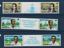 POLYNESIE    N°  YVERT  : 318 A/320 A NEUF SANS  CHARNIERES - Französisch-Polynesien