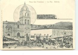 Bolivia - La Paz - Plaza San Francisco - Bolivia