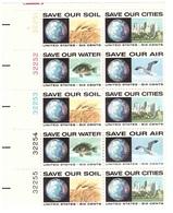 USA 1970 SAVE OUR SOIL,CITIES,WATER,AIR - Protección Del Medio Ambiente Y Del Clima