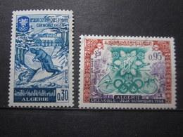 VEND BEAUX TIMBRES D ' ALGERIE N° 453 + 454 , XX !!! - Algerien (1962-...)