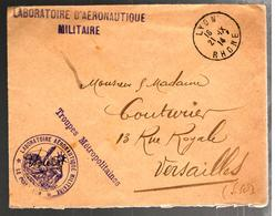 32447 - LABORATOIRE AERONAUTIQUE  MILITAIRE - Guerra De 1914-18