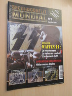 WW2013-2  Revue HISTOIRE DU SECOND CONFLIT MONDIAL N°3 De 2009 LA WAFFEN SS, Valait 12,95 € Sommaire En Photo 3 - Zeitungen & Zeitschriften