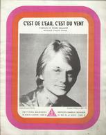 """""""C'est De L'eau, C'est Du Vent"""" Claude François - Paroles De Pierre Delanoé - Musique D'Alice Dona - Music & Instruments"""