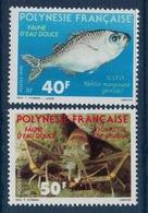 POLYNESIE    N°  YVERT  : 352/353             NEUF SANS  CHARNIERES - Französisch-Polynesien