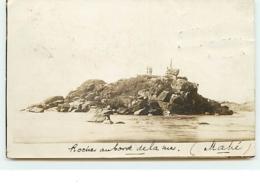 SEYCHELLES - RPPC - MAHE - Roches Au Bord De La Mer - Seychelles