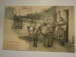 Le Moine Quêteur N°1,voyagée Année 1905,très Bel état Légère,pas Commun - Cristianesimo