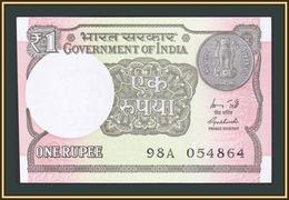 India 1 Rupee 2015 P-117 (117a) UNC - India