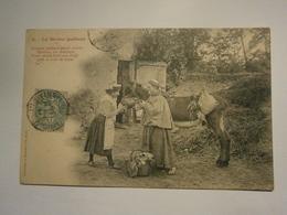 Le Moine Quêteur N°2,voyagée Année 1905,très Bel état Légère,pas Commun - Cristianesimo
