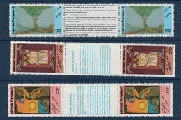 POLYNESIE    N°  YVERT  : 368 A /370 A           NEUF SANS  CHARNIERES - Französisch-Polynesien
