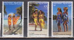 POLYNESIE    N°  YVERT  : 365/367         NEUF SANS  CHARNIERES - Französisch-Polynesien