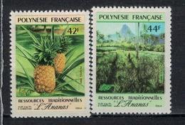 POLYNESIE    N°  YVERT  : 374/375         NEUF SANS  CHARNIERES - Französisch-Polynesien