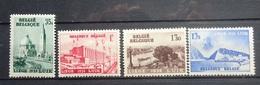 BELGIE 1938    Nr.  484 - 487   Postfris ** CW  15,00 - Belgium