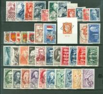 France   Année Complete  1949  Ob   TB - 1940-1949