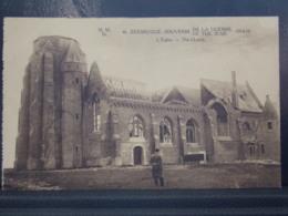 278 . MILITARIA . ZEEBRUGGE .  L EGLISE . SOUVENIR DE LA GUERRE . RUINES - Guerre 1914-18