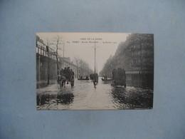 PARIS  -  Crue De La Seine 1910  -  Avenue Daumesnil - Paris Flood, 1910