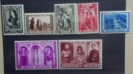 BELGIE 1939    Nr. 512 : 513 - 518    Scharnier *  CW  33,00 - Belgium