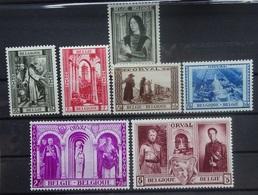 BELGIE 1939    Nr. 512 / 513 - 518    Postfris **   CW  92,00 - Belgium