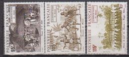 POLYNESIE    N°  YVERT  : 410/412     NEUF SANS  CHARNIERES - Französisch-Polynesien