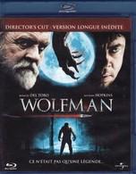 DVD BLU RAY WOLFMAN Avec Anthony Hopkins - Ciencia Ficción Y Fantasía