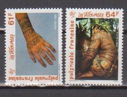 POLYNESIE    N°  YVERT  : 413/414    NEUF SANS  CHARNIERES - Französisch-Polynesien