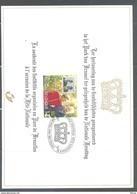 HK 2828HK  HERDENKINGSKAART KONING ALBERT II EN KONINGIN PAOLA 1999 - Cartas Commemorativas