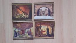 Andre Hofer,Salzburg-Kaffee.Das Nibelungen Lied-4 Pictures - Documentos Antiguos