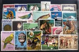 B0039 - Lot Praguay - Stamps