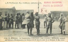 2° REGIMENT DE SAPHIS - (BEAU CACHET)CAMPAGNE DU MAROC ORIENTAL - 1912 - POSTE DE GUERCIF (CACHET) F.M.(CACH-ET) - Andere Kriege