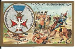 CHROMO ANCIEN  - Médaille Ordre De L'Aigle Blanc (RUSSIA) - Publicité GUÉRIN-BOUTRON - Russie