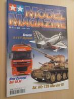 WW2013-2 Revue Maquettiste Plastique / TAMIYA MODEL MAGAZINE N°54 De 2001 Valait 35 FF , Sommaire En Photo 2 Ou 3 - Revues