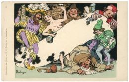 COLLECTION DES CENT. Carte Neuve N° 13 Illustrée Par LEBEGUE, Représentant Une Scène D'orgie. TB - Autres Illustrateurs