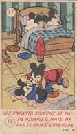 Carte Vignette MICKEY - Bonbon KREMA ,savon Paillettes CAD ,café BELIN ,chocolats NORGE Et DOGE - Andere