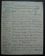 1816 Ferme De Mermont Crépy En Valois Oise Conditions D'un Nouveau Bail Fait Avec Madame Veuve Bléré - Manuscritos