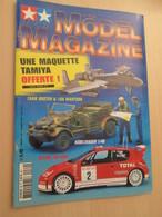 WW2013-2 Revue Maquettiste Plastique / TAMIYA MODEL MAGAZINE N°69 De 2004 Valait 5,40€ , Sommaire En Photo 2 Ou 3 - Revues