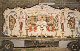 Keyless Antique Organ At Fakenham Norfolk Thursford Farm Exhibit 1970s Postcard - Angleterre