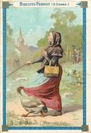 CHROMOS - BISCUITS PERNOT ( 5 USINES ) - L'OIE DE L'AVEUGLE - Documentos Antiguos