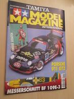 WW2013-2 Revue Maquettiste Plastique / TAMIYA MODEL MAGAZINE N°29 De 1997 Valait 30 FF Sommaire En Photo 2 Ou 3 - Revues