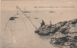 SAINT MARC SUR MER La Pêche Au Carrelet (bateau De Pêche) - France