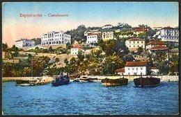 Montenegro: Castelnuovo (Herceg Novi), General View 1916 - Montenegro