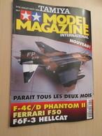 WW2013-2 Revue Maquettiste Plastique / TAMIYA MODEL MAGAZINE N°22 De 1996 Valait 30 FF Sommaire En Photo 2 Ou 3 - Revues