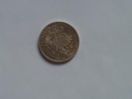 Austria 1Fl Florin 1861 Silver Franz Joseph I Ferencz Jozsef - Austria